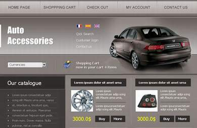 Car Store E-Commerce Store