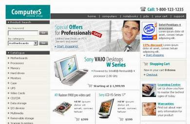 Computers E-Commerce Store