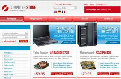 Computers & Electronics E-Commerce Store