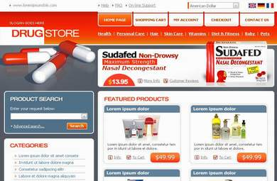Drug & Medicine E-Commerce Store