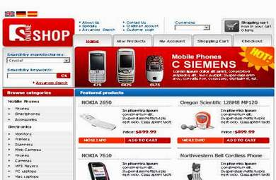 Electronics E-Commerce Store