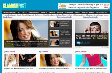 GlamourPost.Co.Cc | Fashion & Glamour Web Portal