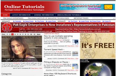 Pak Eagle Online Computer Tutorials