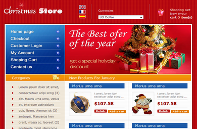 Online Christmas Store