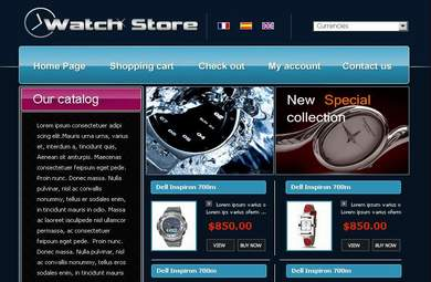 Online Watch Store