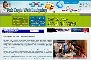 PakEagle.Com Web Designing Service By Pak Eagle Enterprises