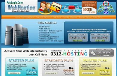 A Web Hosting Service By PakEagle.Com